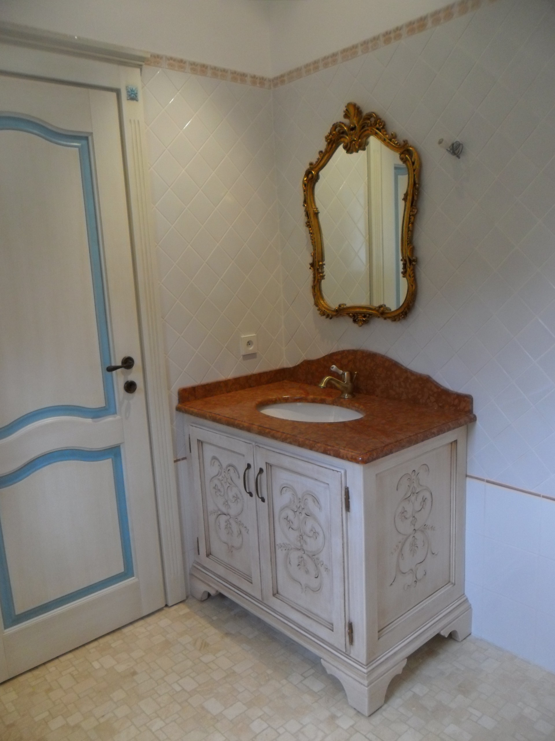 Mensole moderne online - Mobile bagno ferro battuto ...