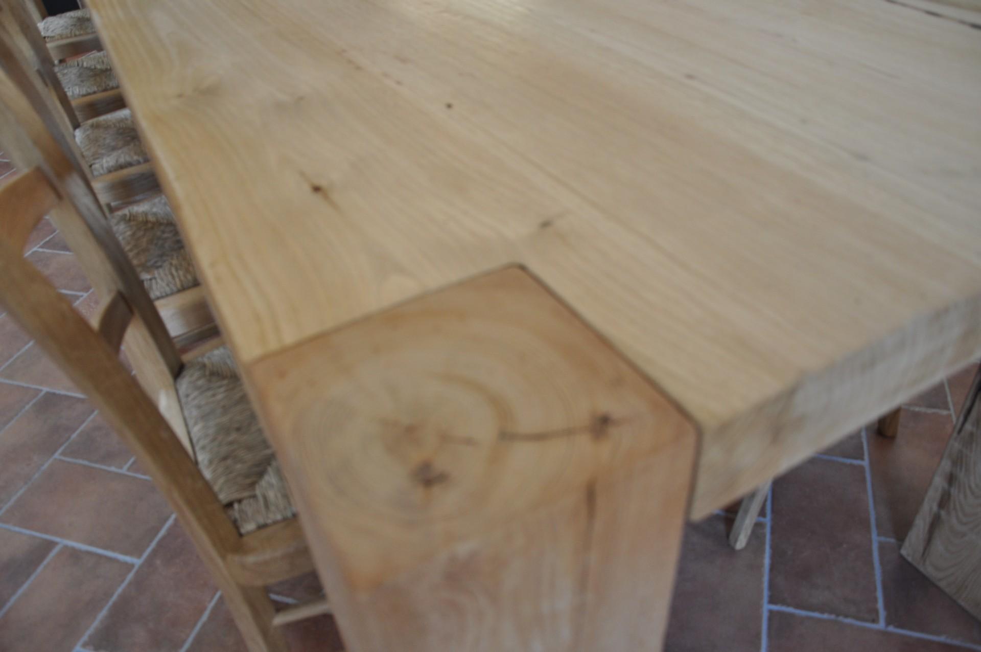 castagno tavolo rustico : tavoli in legno su misura Fadini Mobili Cerea Verona