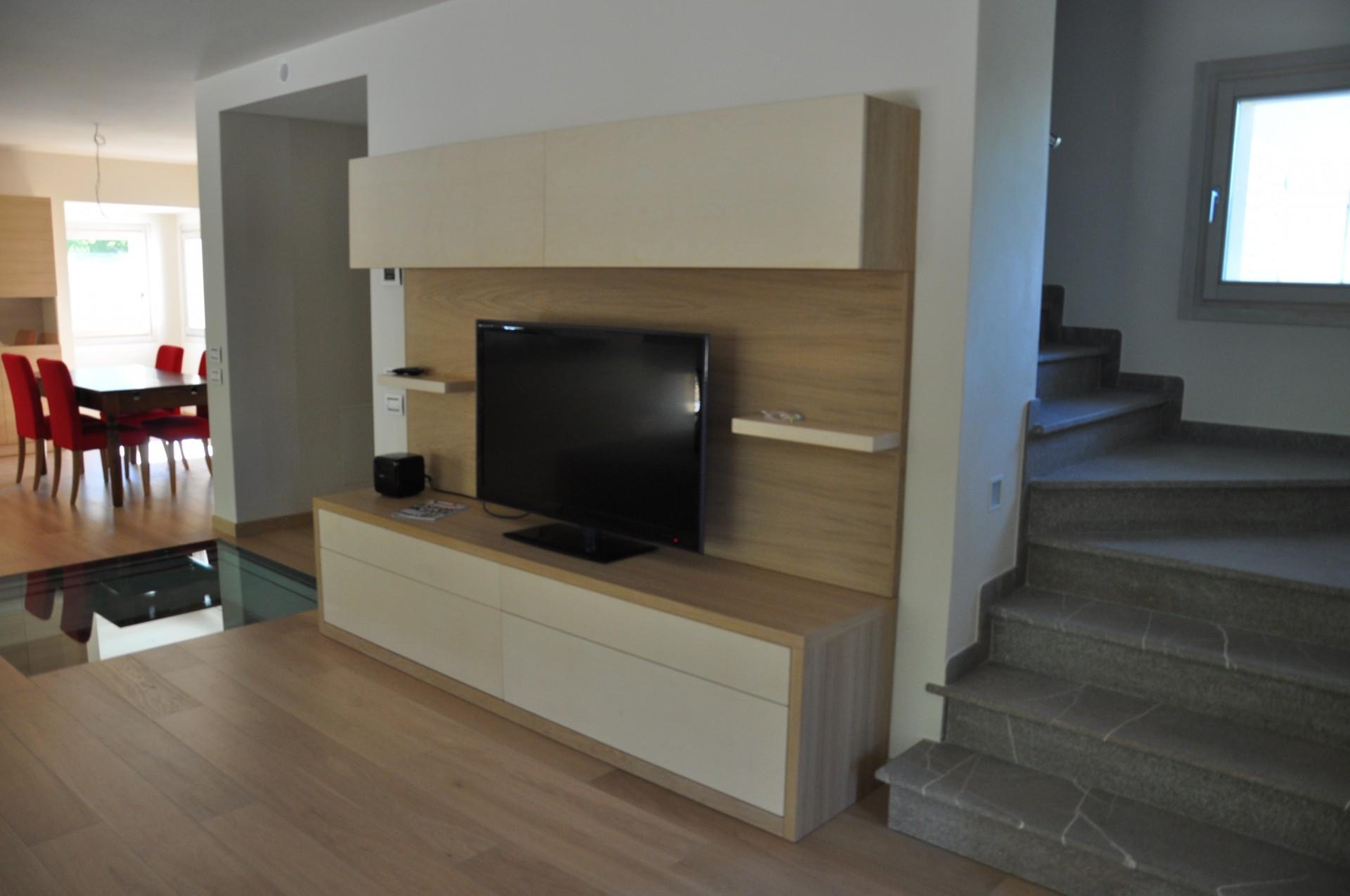 Mobili in legno per sala fadini mobili cerea verona for Mobile basso sala