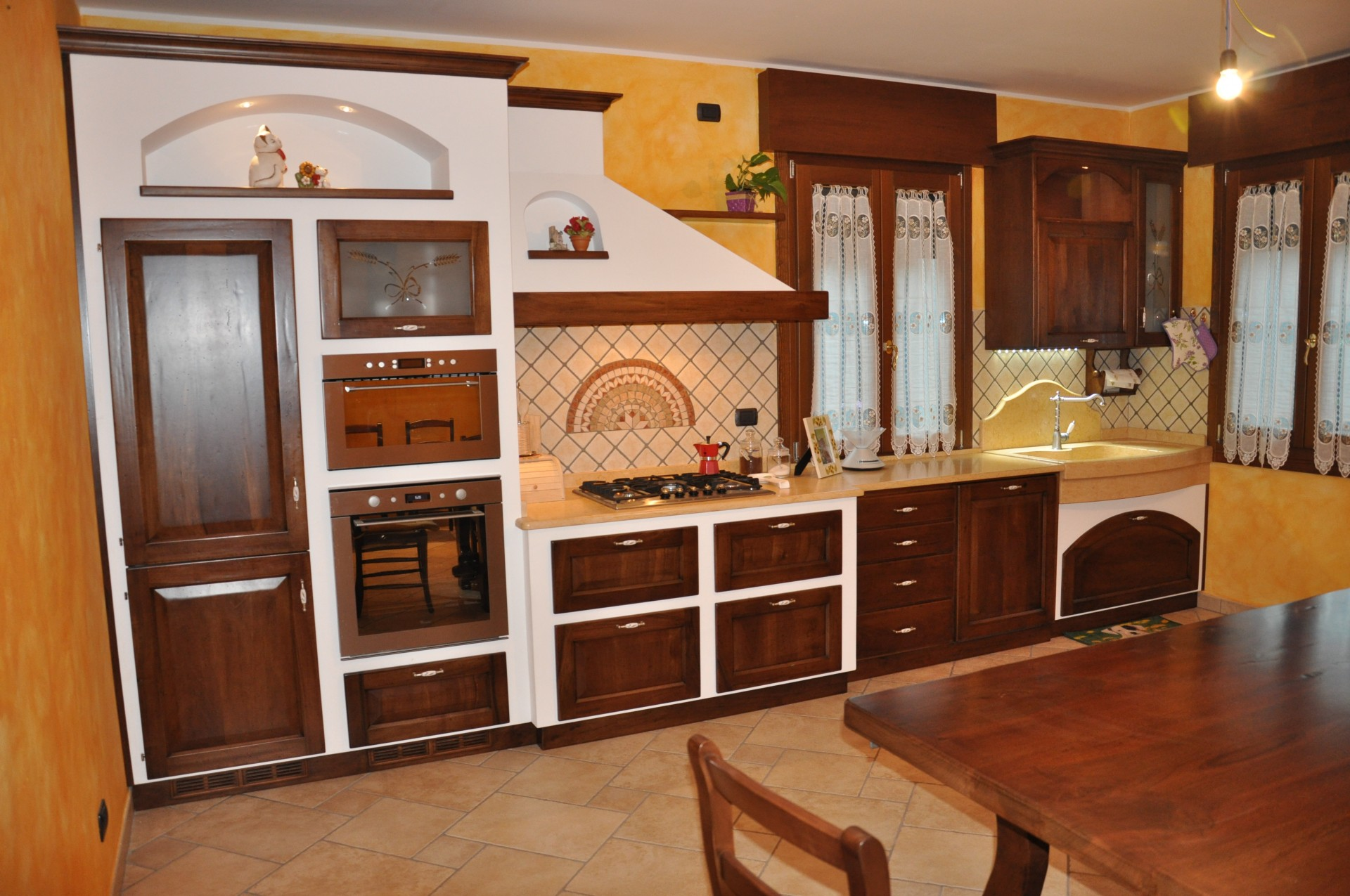 Cucina in muratura fadini mobili cerea verona - Cucine country in muratura ...