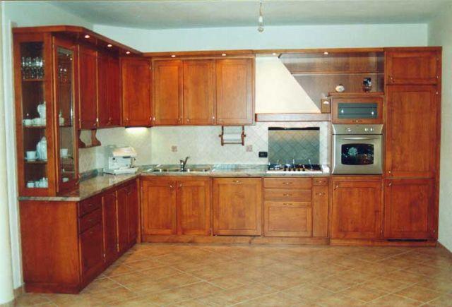 Cucina in muratura fadini mobili cerea verona - Cucine ciliegio moderne ...