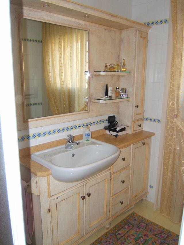 Fotos - Mobile Da Bagno Decap Rosa Cm 75 Con Lavabo Specchio E ...