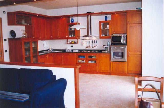 Cucine moderne fadini mobili cerea verona for Cucine in ciliegio moderne