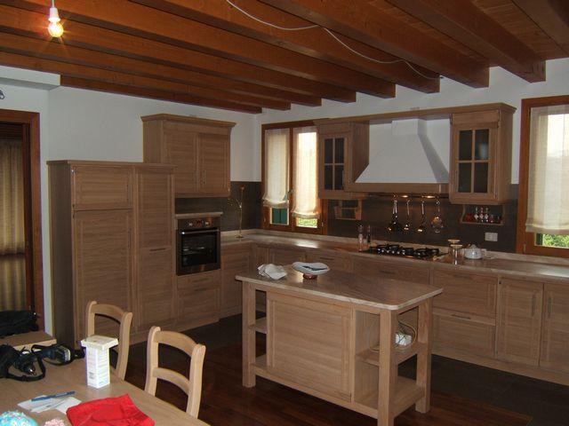 Cucina moderna fadini mobili cerea verona - Cucine moderne in legno naturale ...
