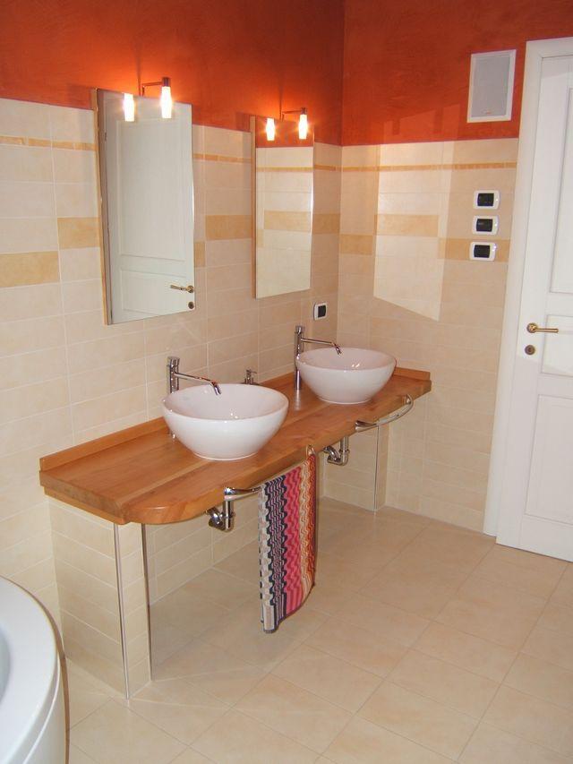 Mobili per bagno in muratura fadini mobili cerea verona - Bagno in muratura moderno ...