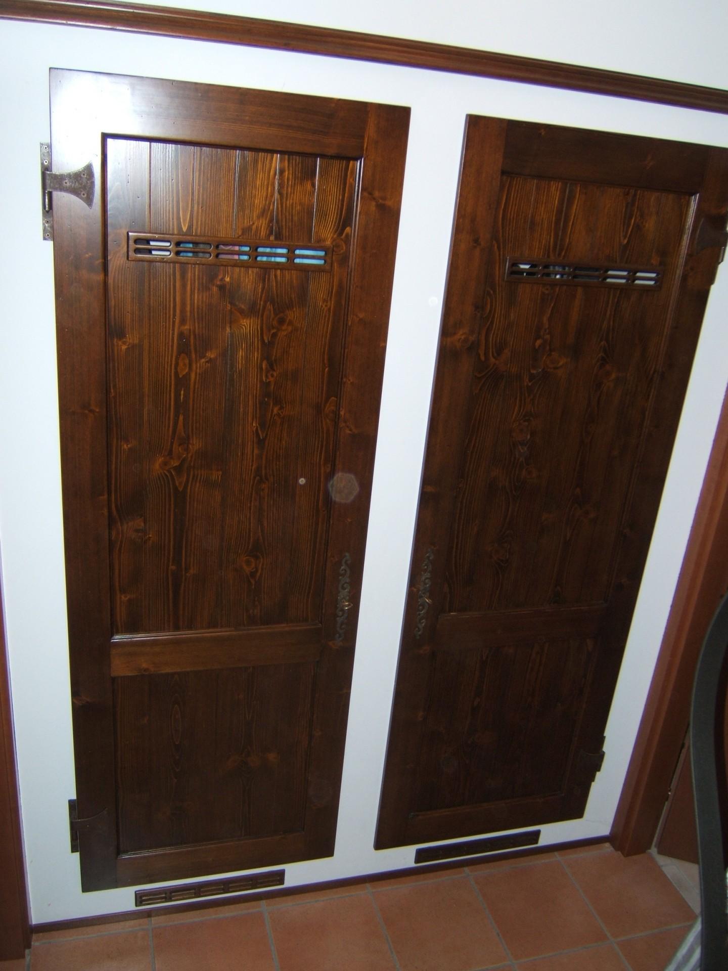 Mobili su misura fadini mobili cerea verona for Ante in legno per cucina in muratura