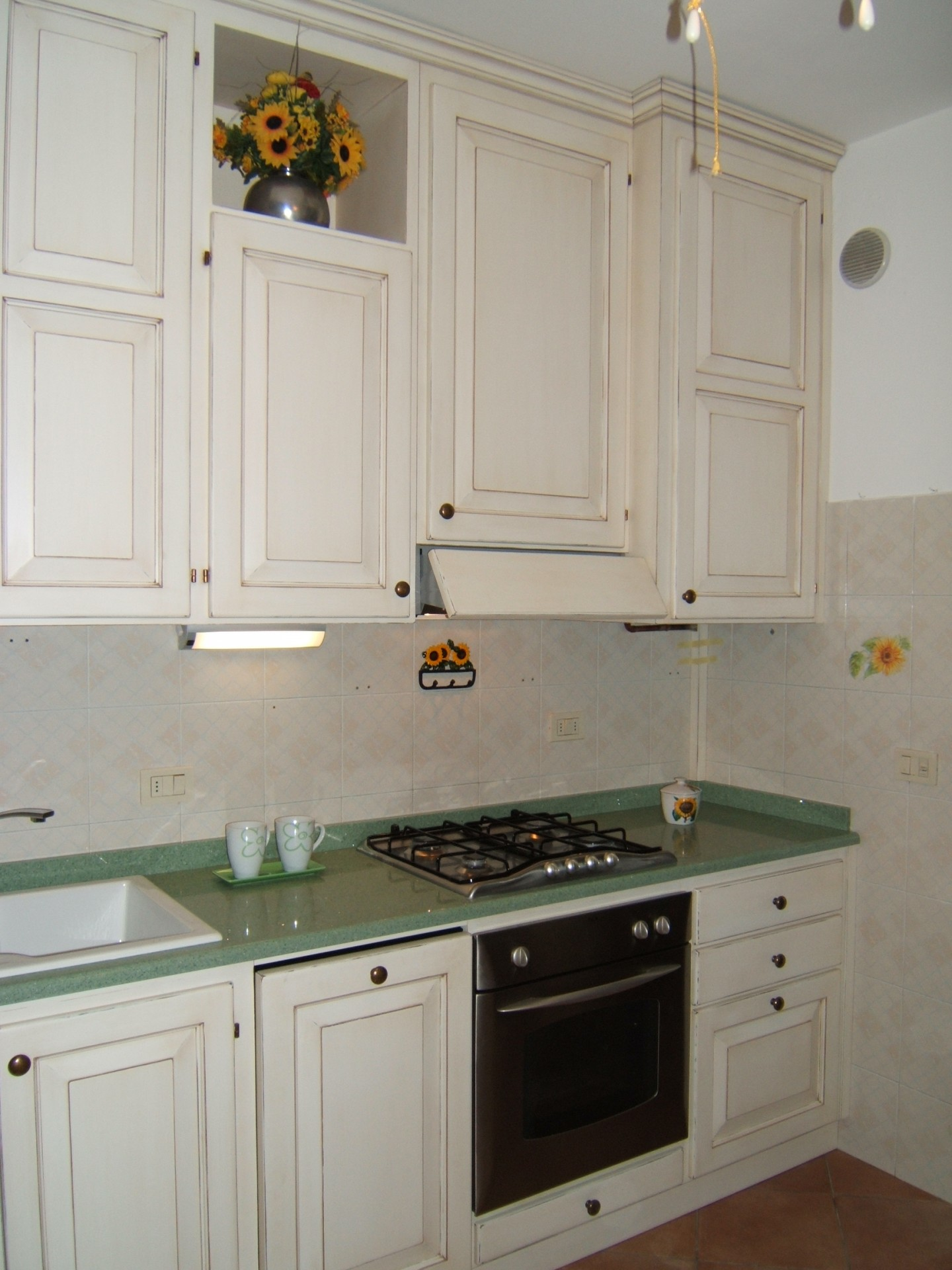 Cucina in muratura fadini mobili cerea verona - Altezza top cucina ...