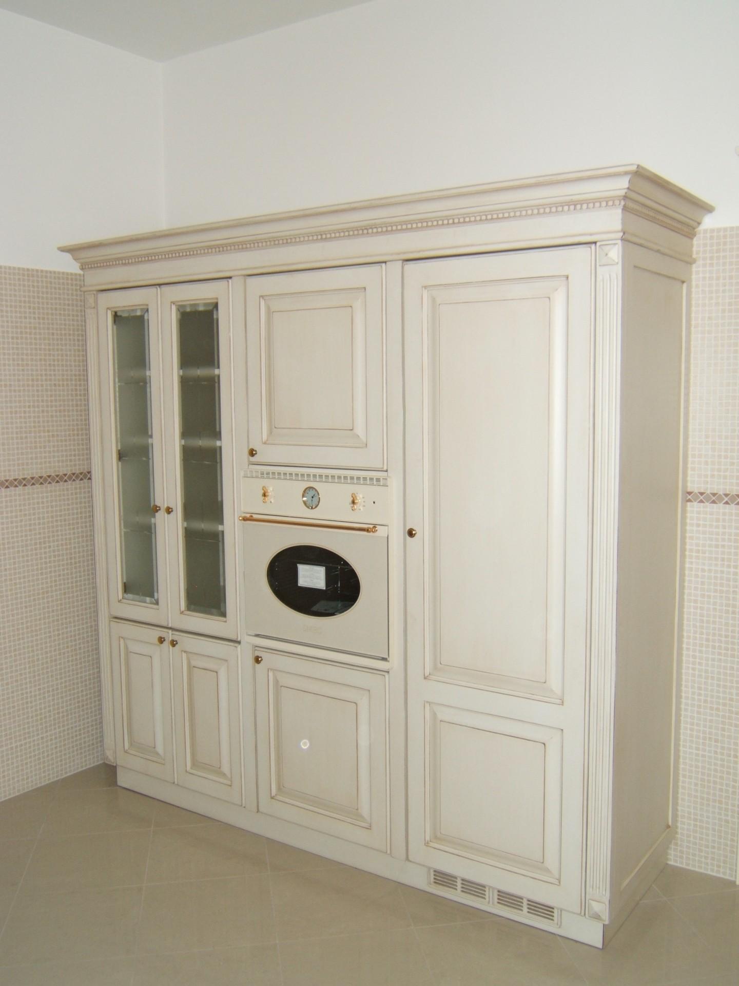 Cucina costruita in legno di rovere su misura fadini - Cucine country milano ...
