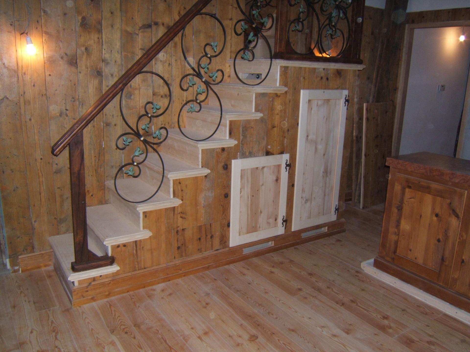 Mobili su misura fadini mobili cerea verona - Mobili sottoscala in legno ...