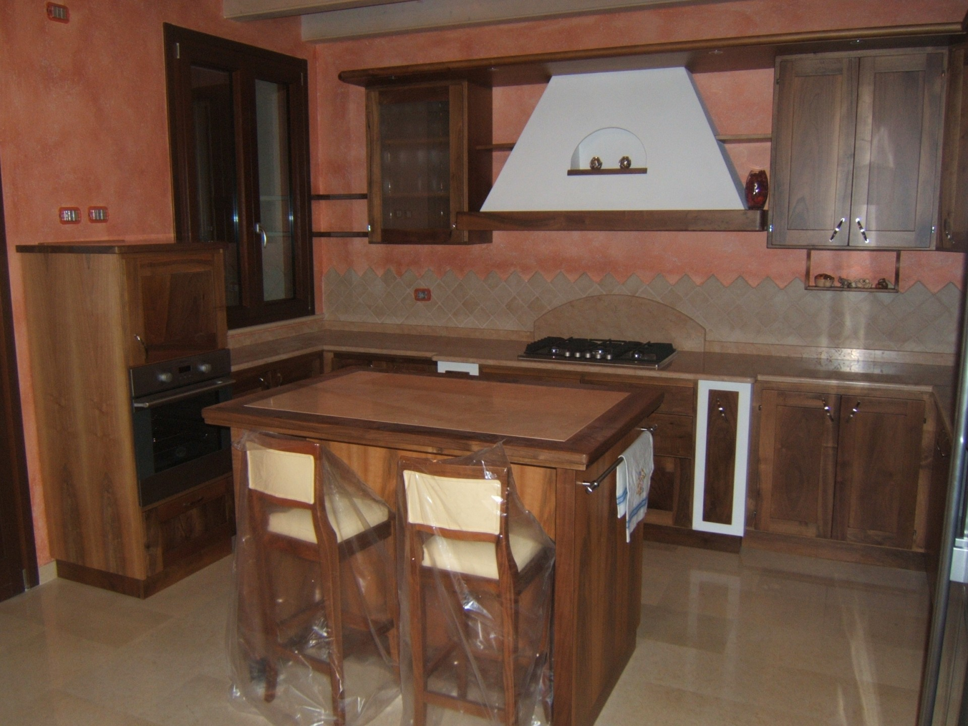 Cucina in muratura fadini mobili cerea verona - Cucine classiche artigianali ...