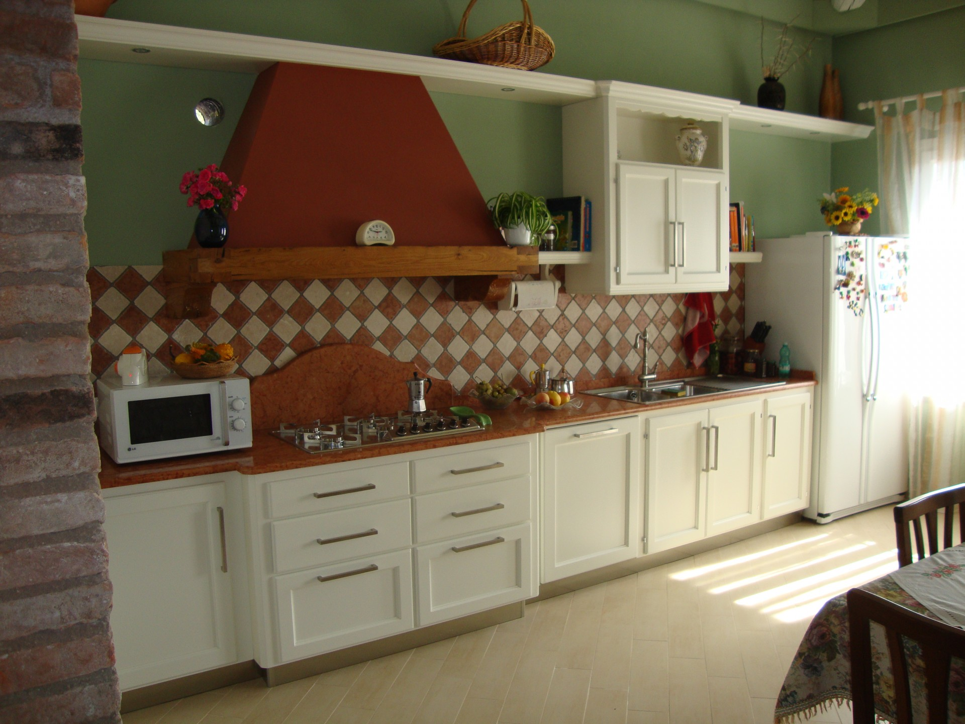 Cucine Moderne Fadini Mobili Cerea Verona #A86C23 1920 1440 Cucine Moderne Di Legno
