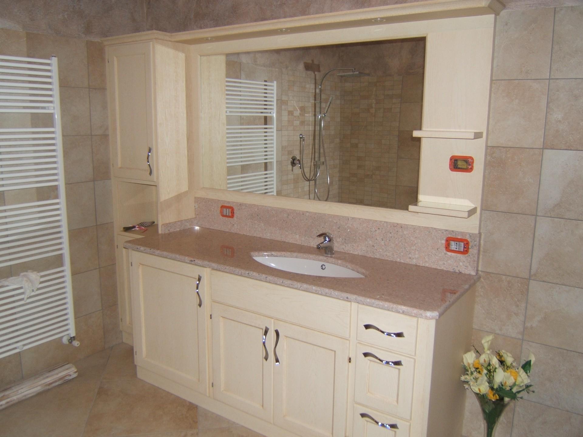 Mobili per bagno fadini mobili cerea verona - Lavabo in muratura per bagno ...