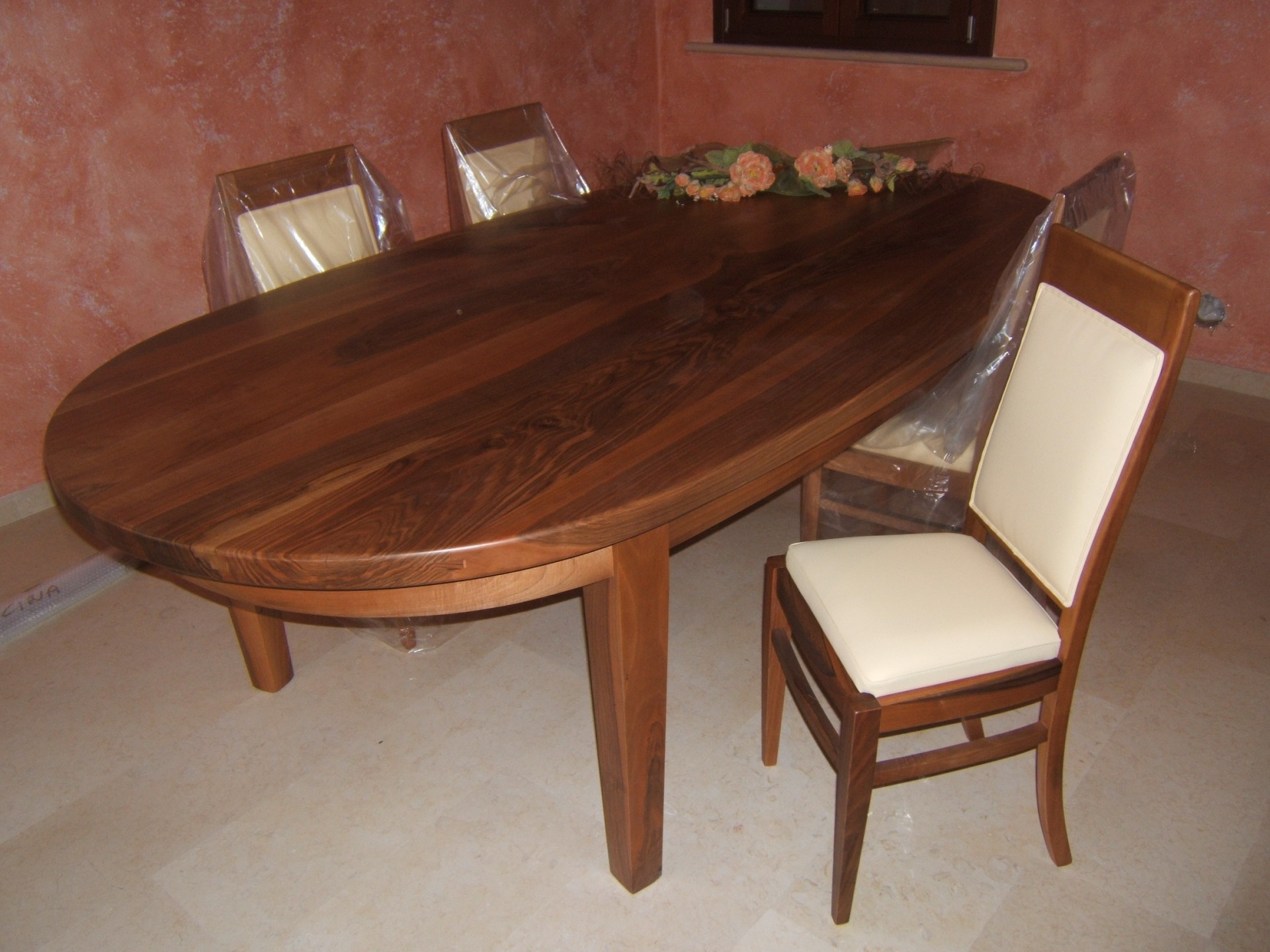 Tavoli in legno su misura fadini mobili cerea verona - Tavolo ovale cucina ...