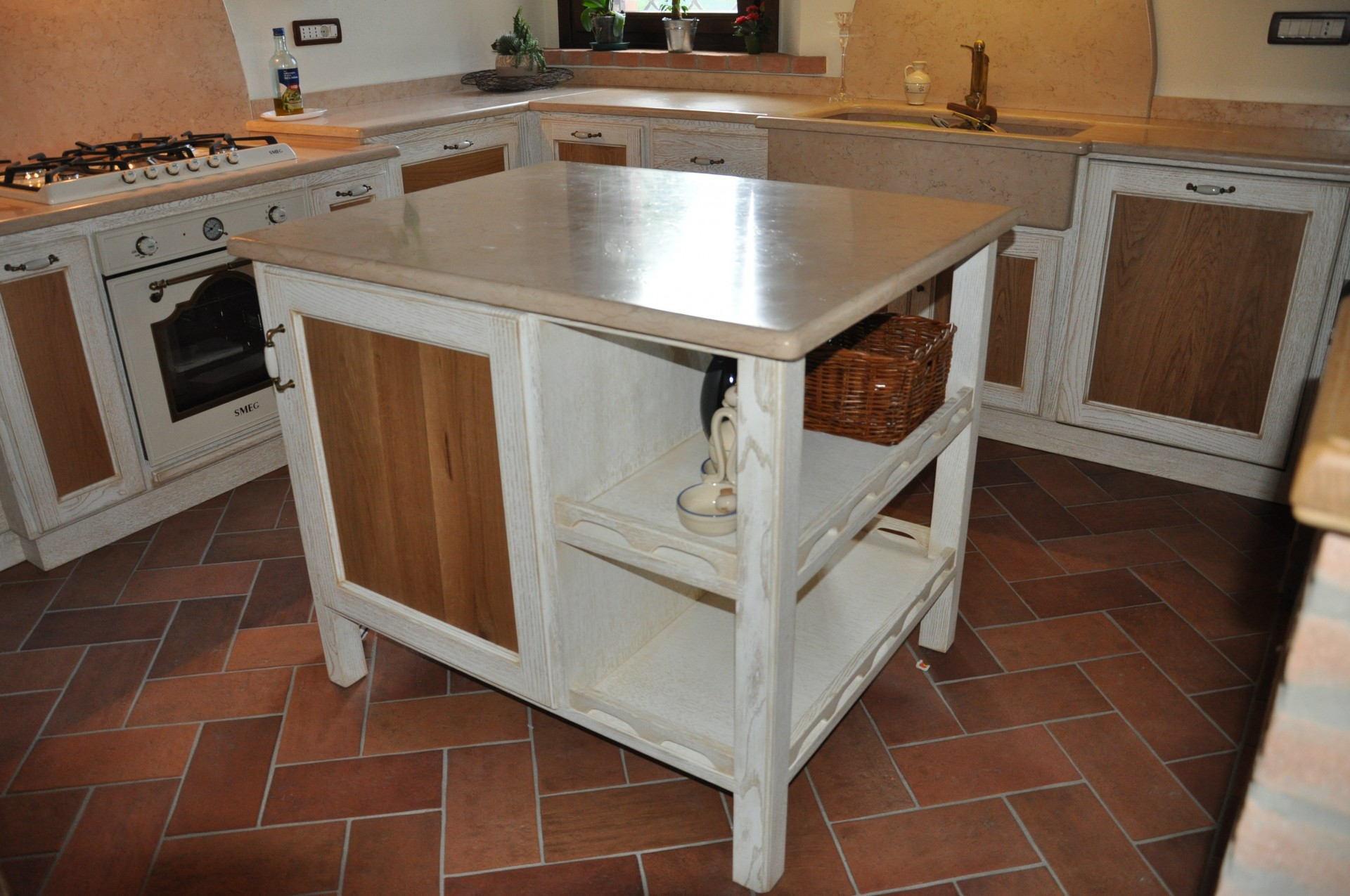 Isola pallet idee cucina - Isola in cucina ...