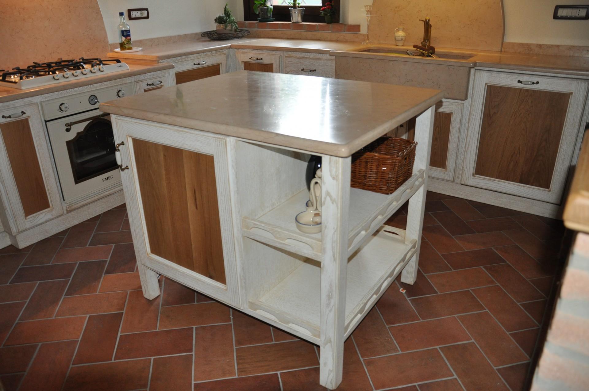 isola per cucina art 6011 isola per cucina costruita in legno su ...
