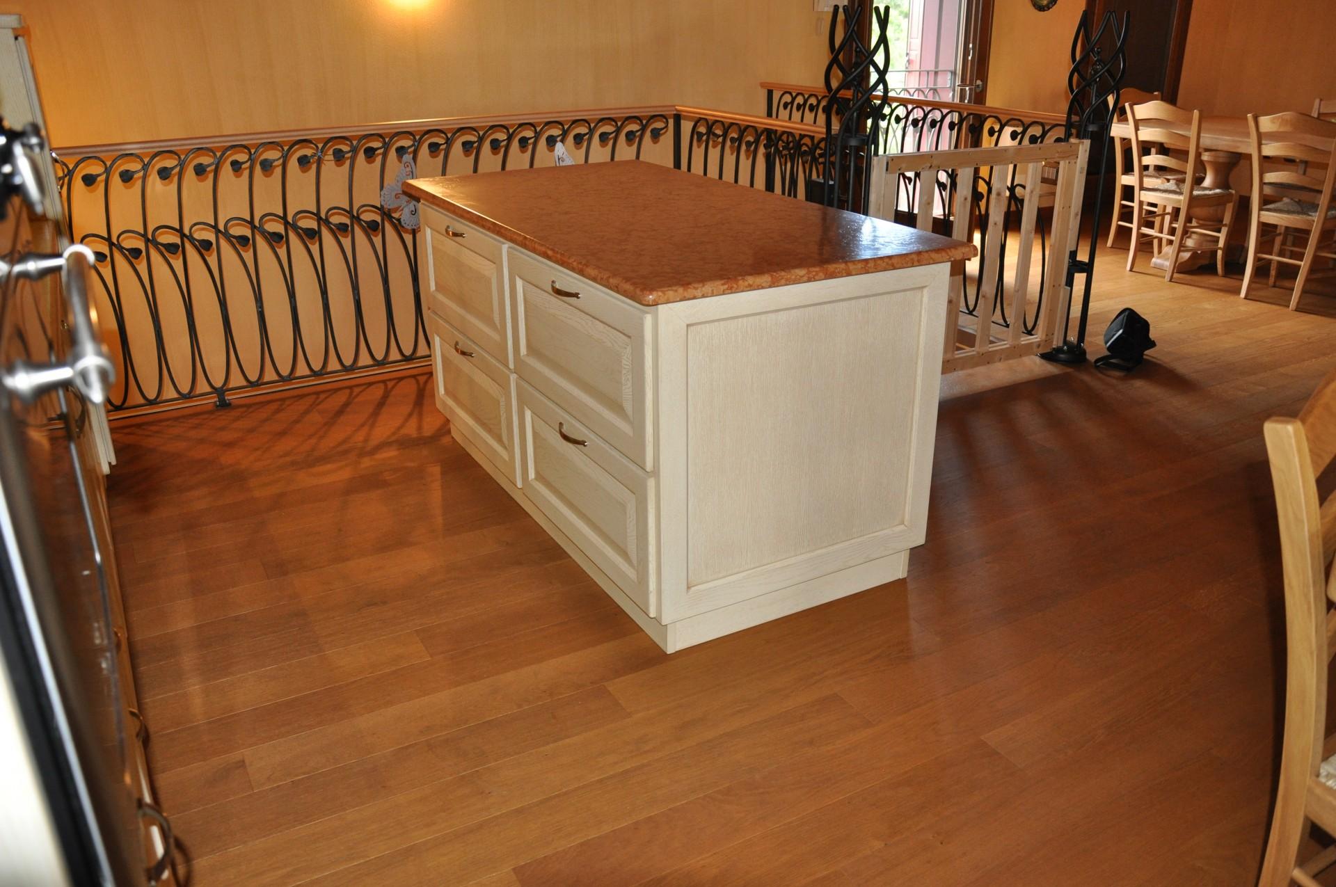 Banconi e isole per cucina fadini mobili cerea verona - Mobile con cassetti per cucina ...