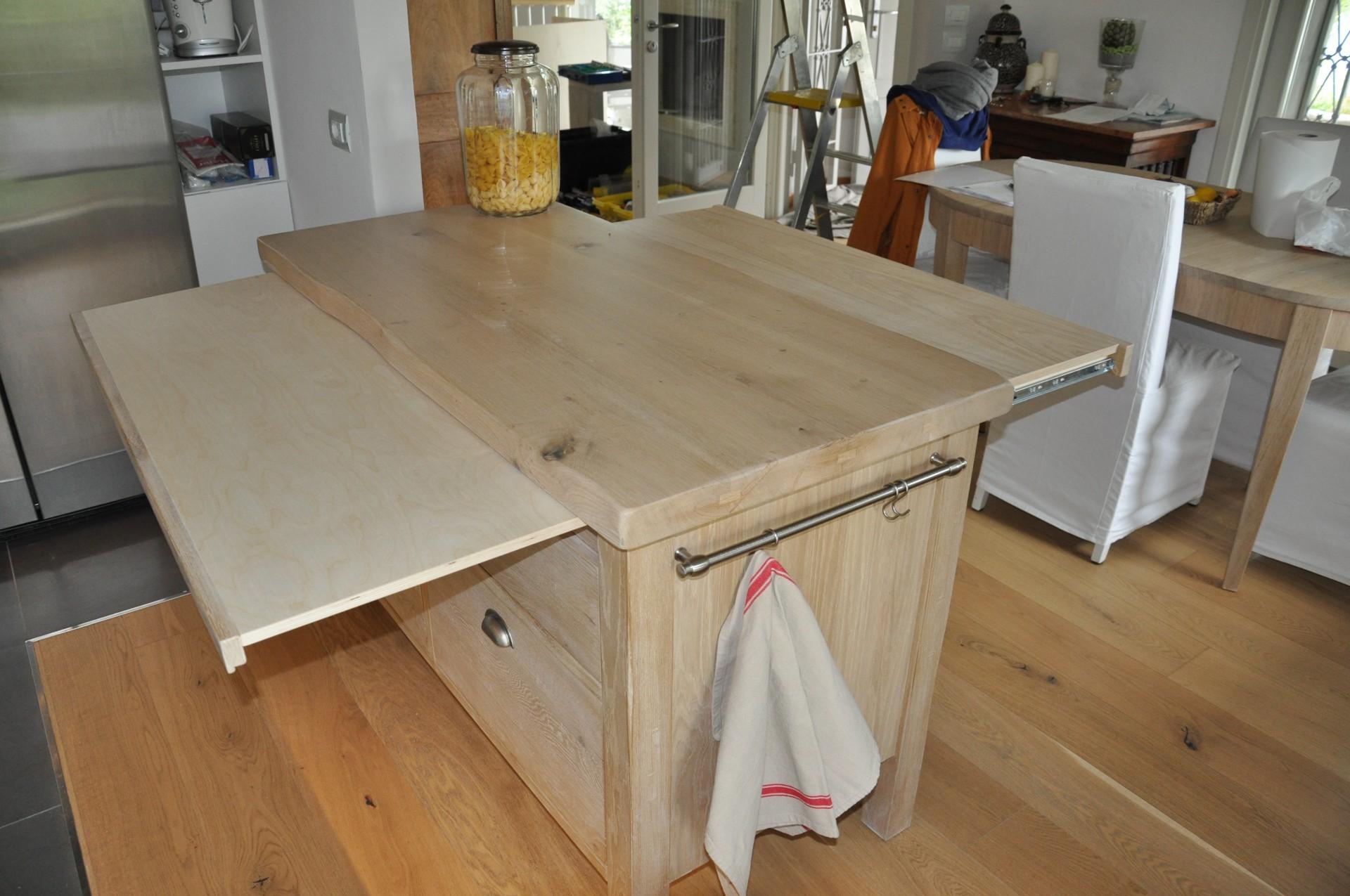 per cucina art 6003 bancone per cucina costruito su misura in legno ...