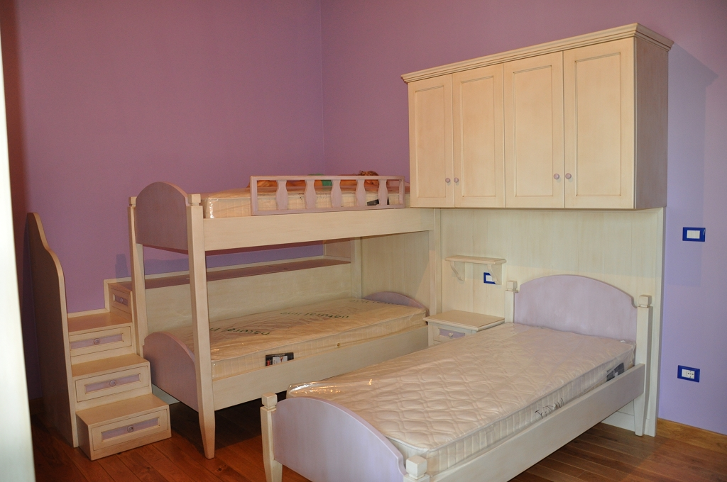 Camerette bambino fadini mobili cerea verona for Letto a castello con armadio