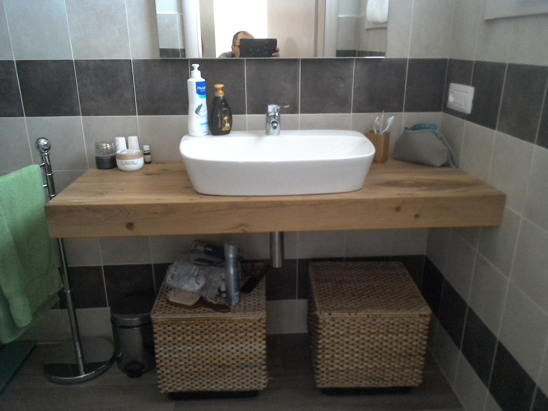 Mobile in legno per il bagno fadini mobili cerea verona - Prodotti per il bagno ...