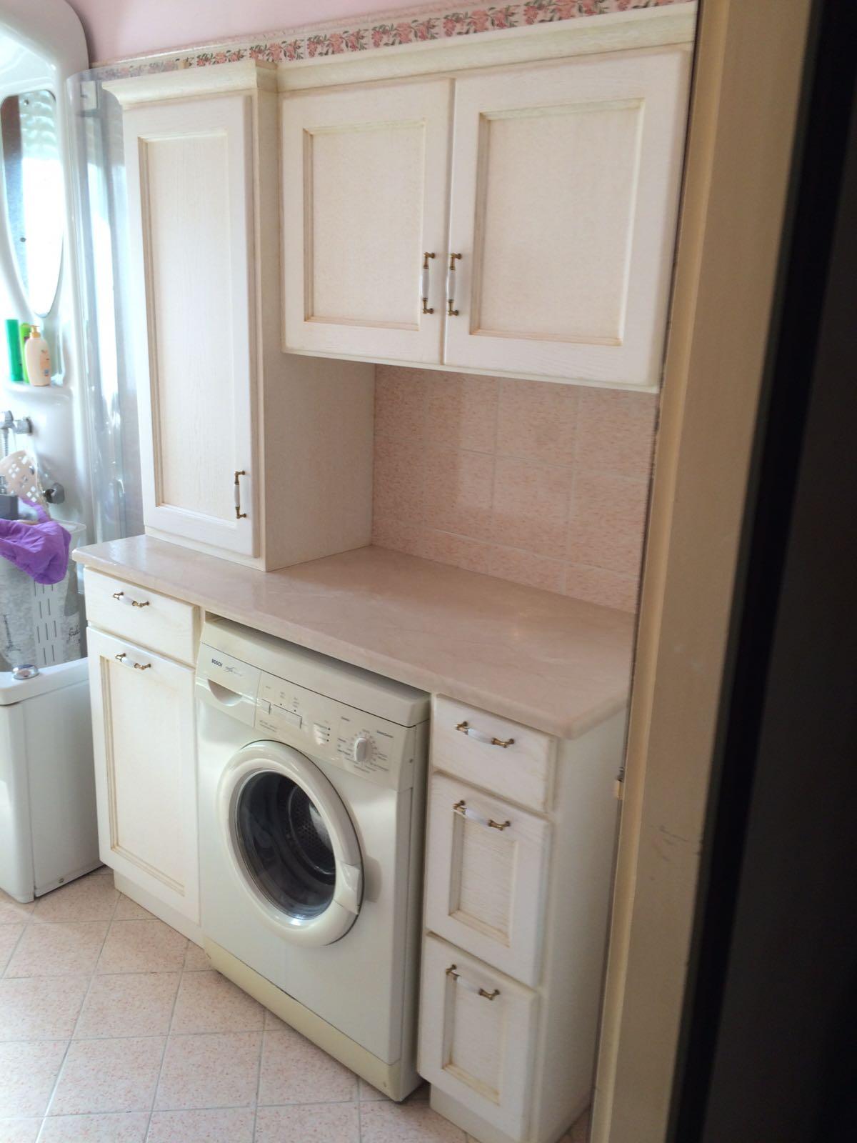 Mobile Da Esterno Per Lavatrice mobile per lavatrice art. 448 | fadini mobili cerea verona