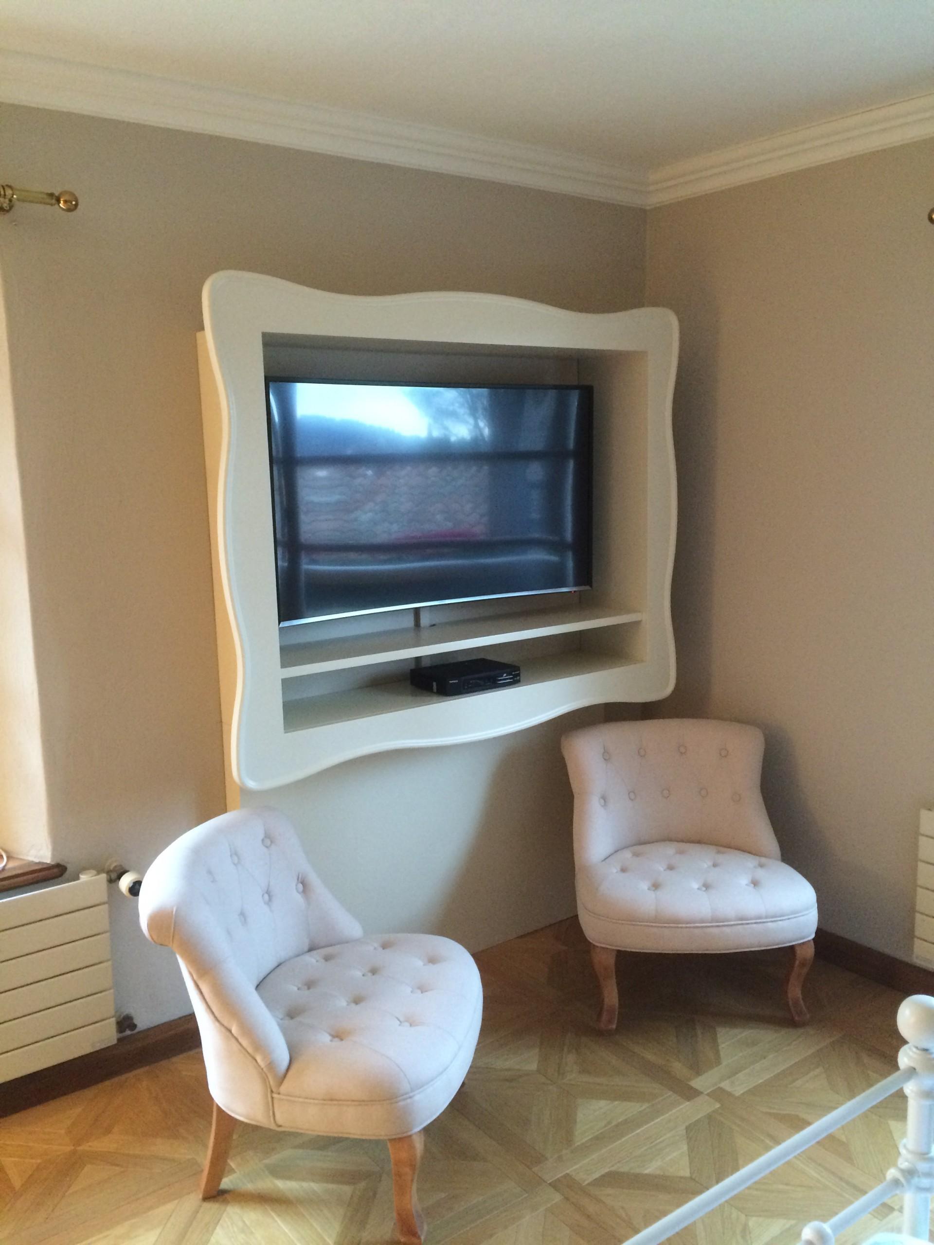 Cornice per tv in legno. | Fadini Mobili Cerea Verona