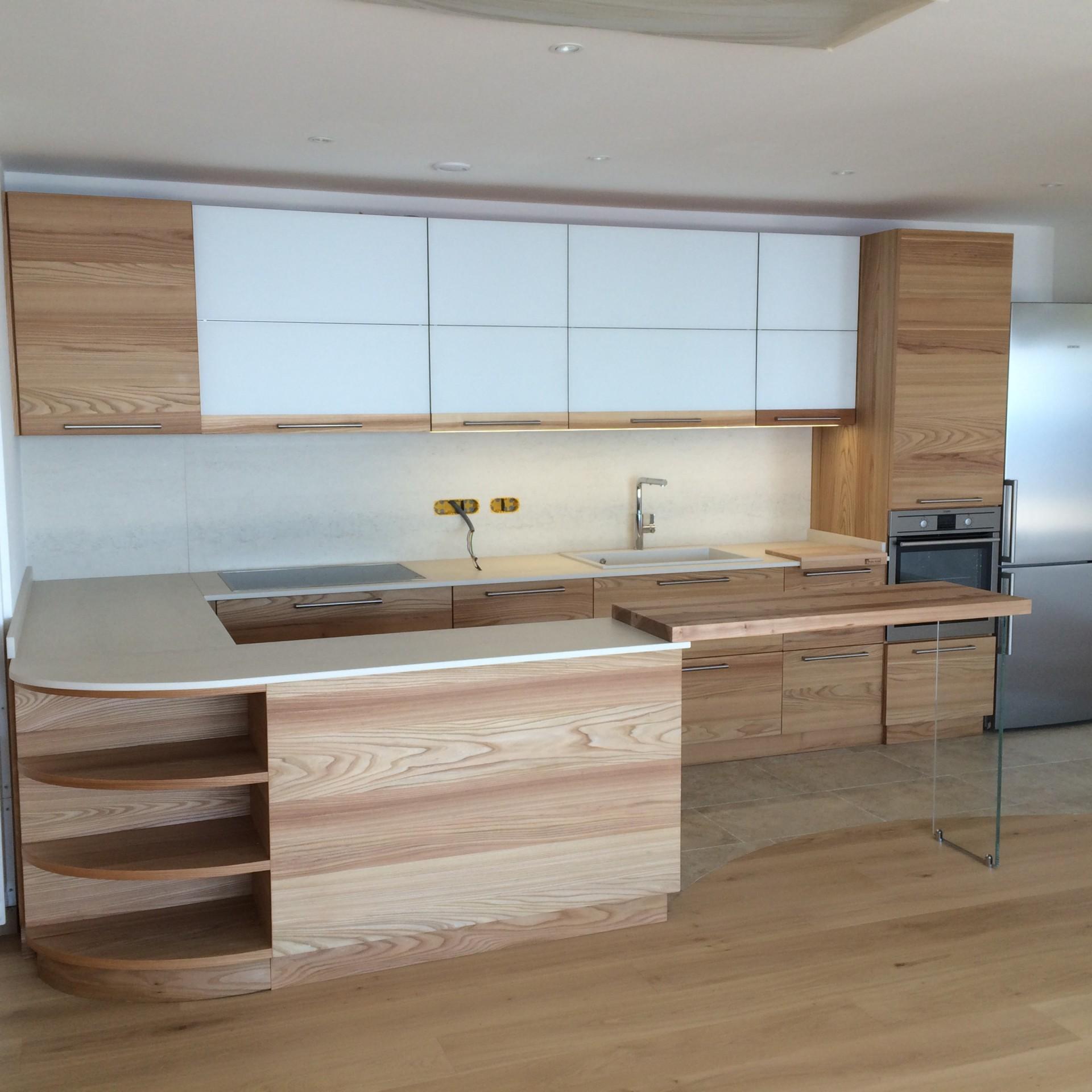 Interesting cucine in legno naturale cucina moderna a modena fadini mobili cerea verona with - Mobili in pino naturale ...