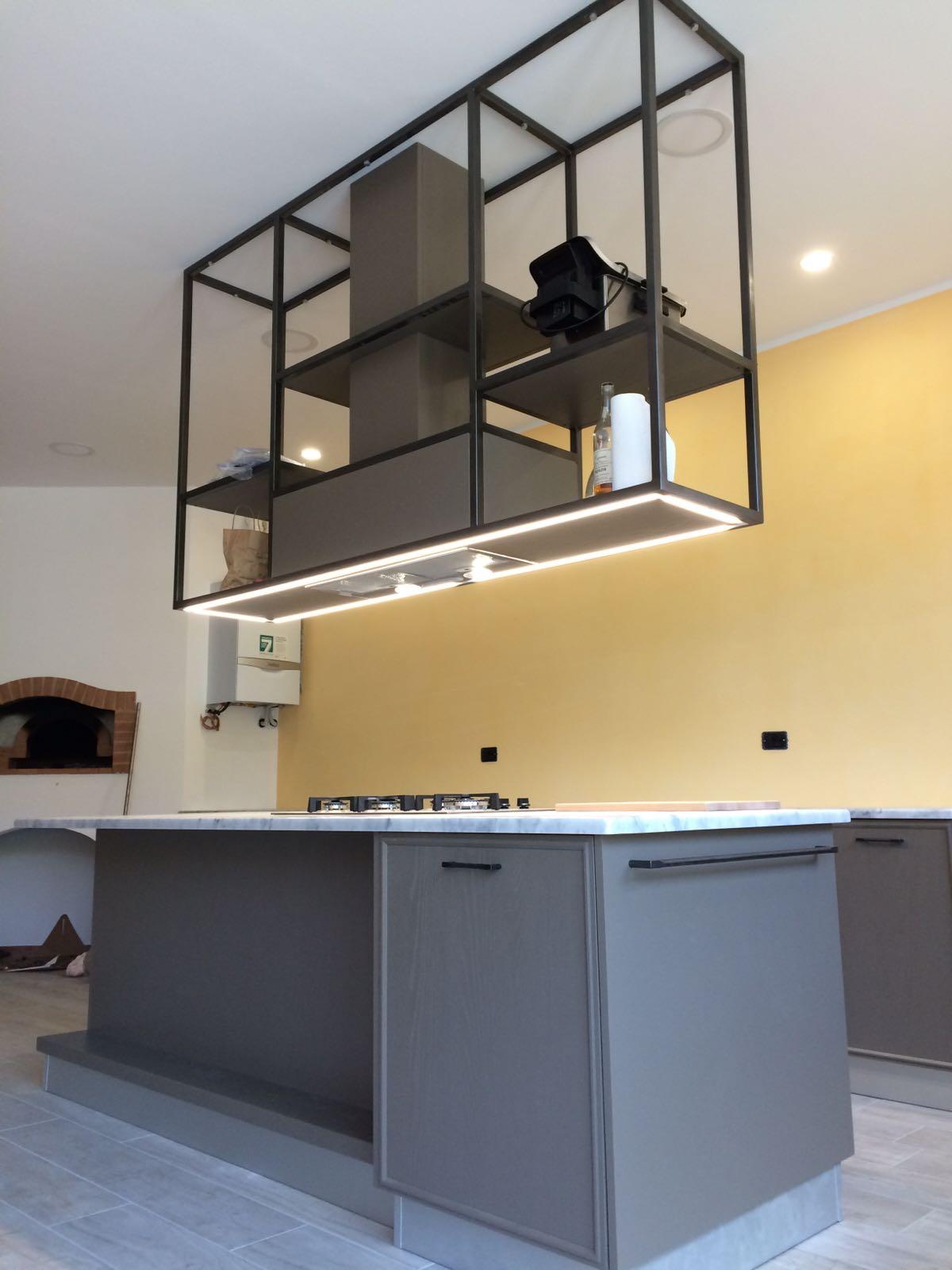 Cappa per cucina artigianale art. 242 | Fadini Mobili Cerea ...
