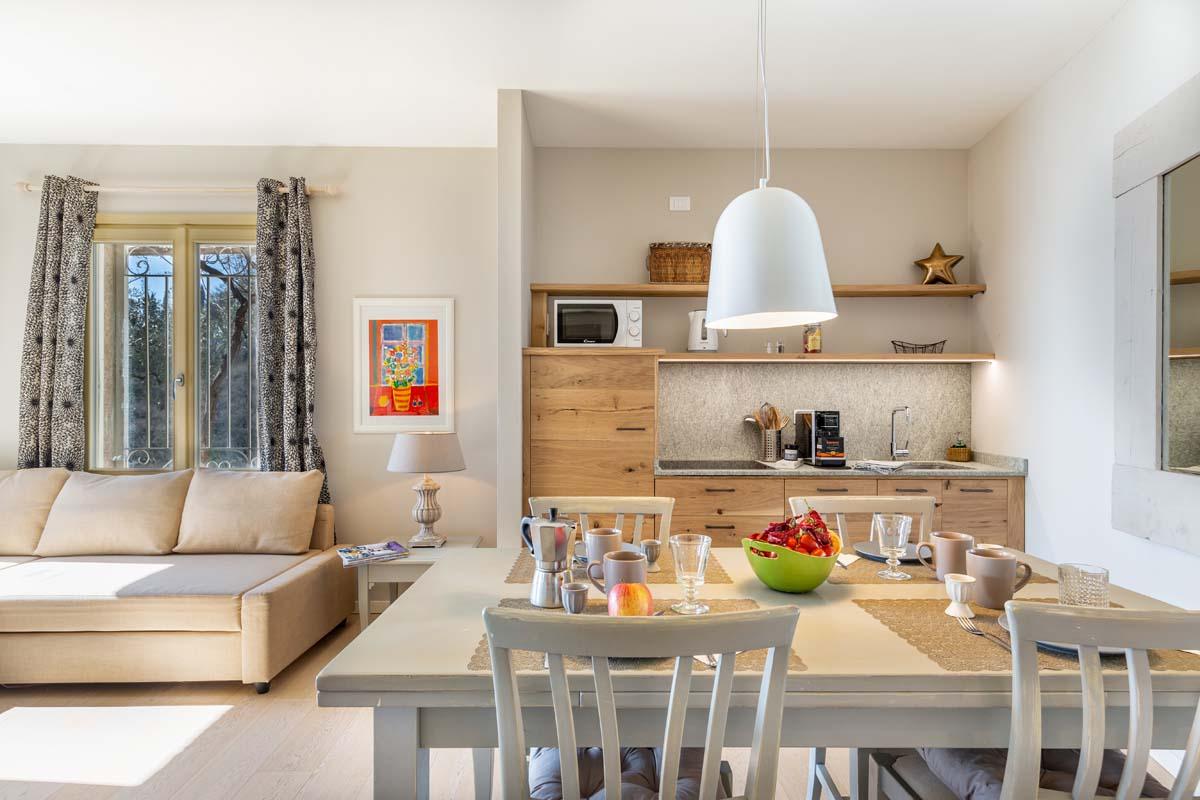 Cucina in legno per B&B