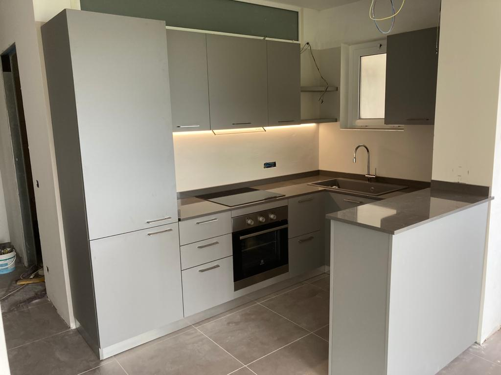 Cucina moderna color grigio