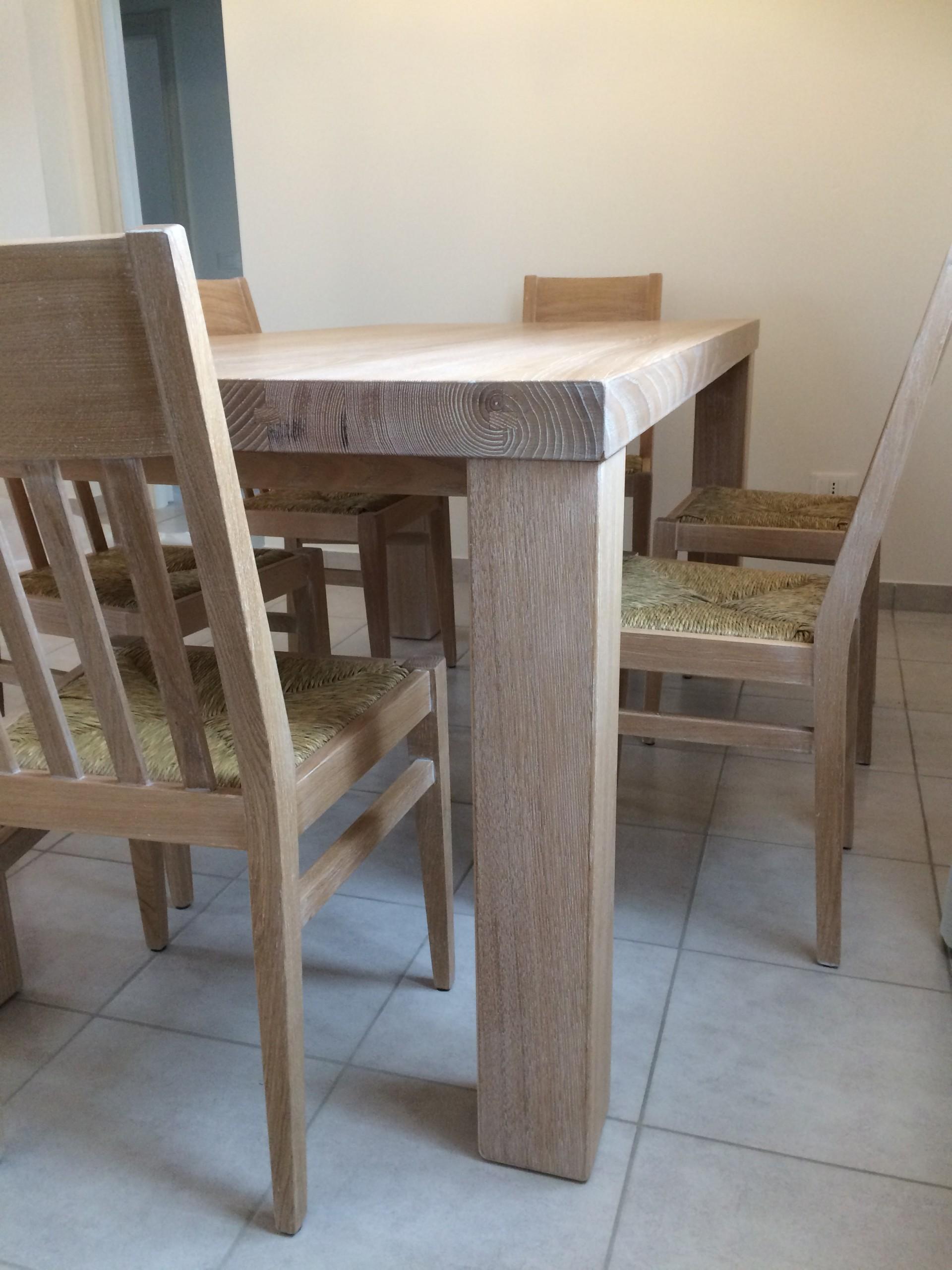 Tavolo rustico legno with tavolo rustico legno outdoor for Costruire tavolo legno rustico