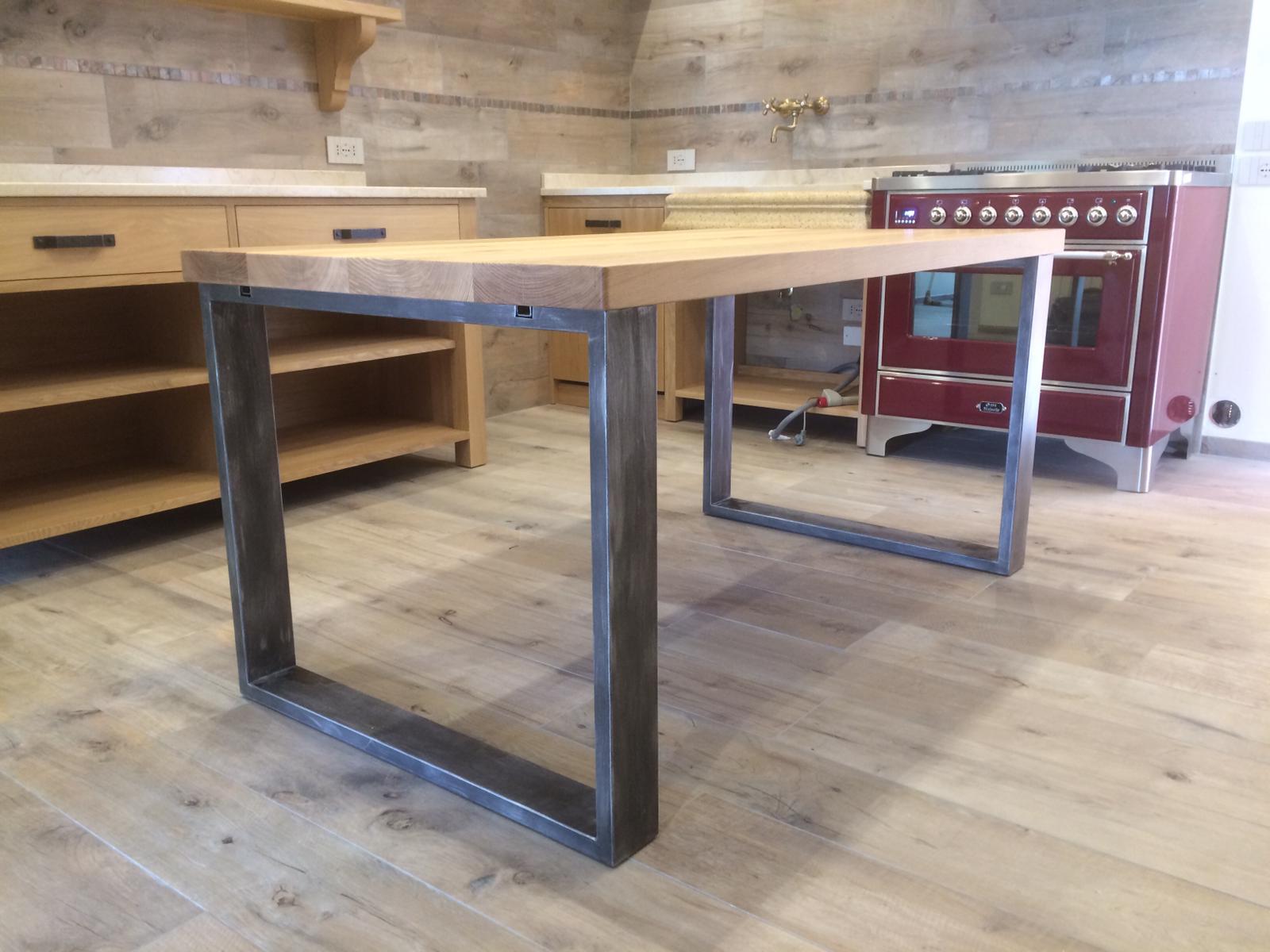 Tavoli Con Gambe In Ferro Art 2046 Fadini Mobili Cerea Verona