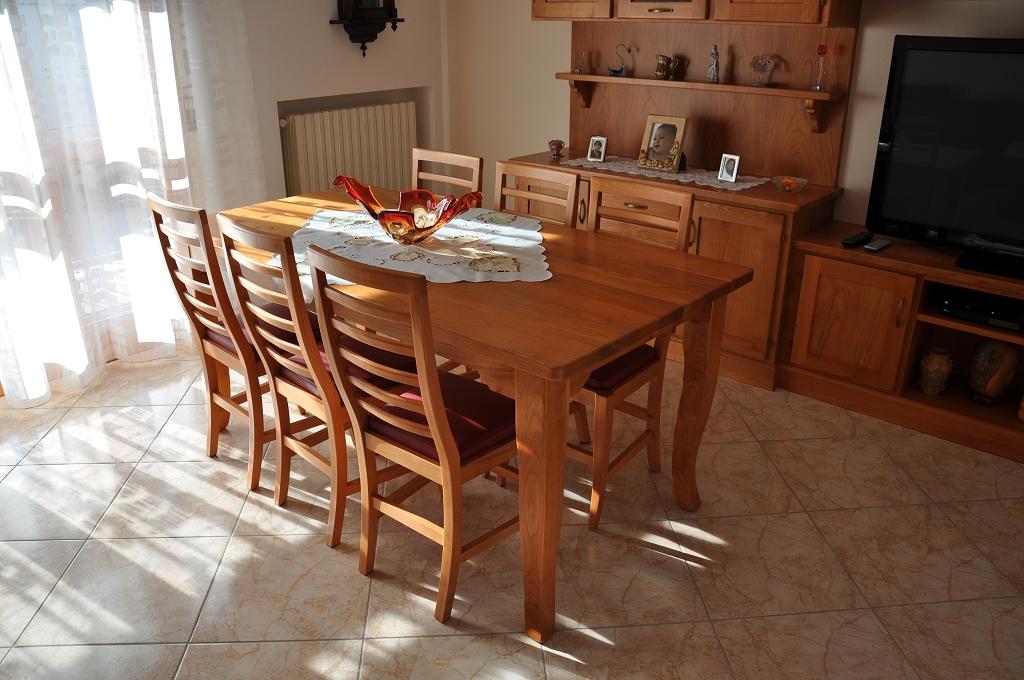 Tavolo E Sedie Cucina : Tavoli in legno su misura fadini mobili cerea verona