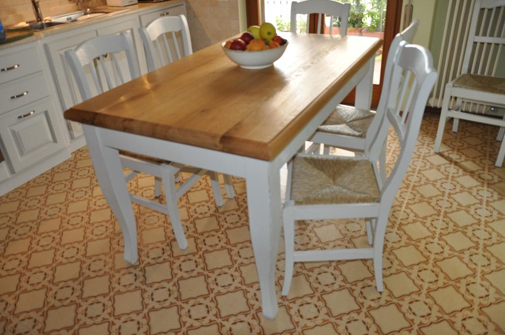 Tavoli su misura fadini mobili cerea verona - Tavolo legno naturale ...