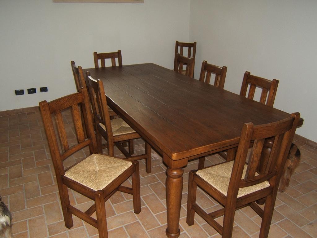 Tavoli in legno su misura fadini mobili cerea verona for Tavoli in legno allungabili