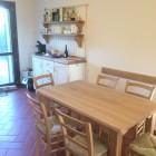 Cucina in legno di rovere