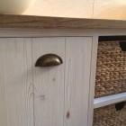 Mobile per il bagno in legno laccato