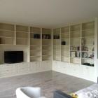 Libreria in legno a Savona.