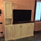 Mobile tv in legno laccato