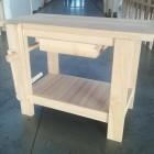 Banco da falegname in legno