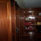 Boiserie in legno di mogano a Savona