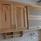 cucina rustica in castagno savona legno naturale design