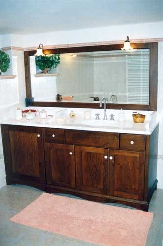 Mobili Rustici Bagno : Mobili per bagno e lavanderia su misura fadini mobili cerea verona