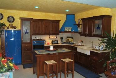 Cucine in legno a Verona