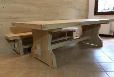 Tavoli in legno naturale | Fadini Mobili Cerea Verona
